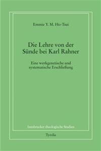 Die Lehre von der Sünde bei Karl Rahner