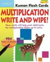 Multiplication Flashcards Write & Wipe
