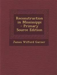 Reconstruction in Mississippi