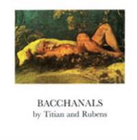 Bacchanals by Titian and Rubens Papers given at a symposium in Nationalmuseum, Stockholm, March 18-19, 1987