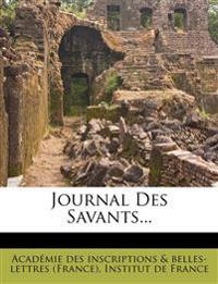 Journal Des Savants...