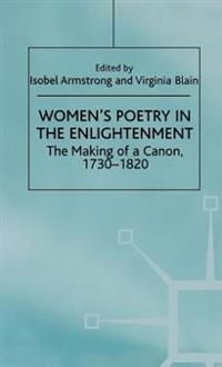 Women's Poetry in the Enlightenment