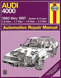 Haynes Audi 4000 Manual, No. 165