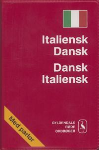 Italiensk-dansk, dansk-italiensk ordbog