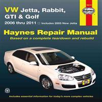 VW Jetta, Rabbit, GTI & Golf: 2006 Thru 2011 - Includes 2005 New Jetta