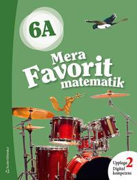Mera Favorit matematik 6A Elevpaket - Digitalt + Tryckt