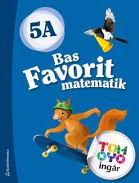 Bas Favorit matematik 5A Elevpaket - Digitalt + Tryckt