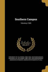 SOUTHERN CAMPUS VOLUME YR1920