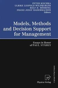 Models, Methods and Decision Support for Management