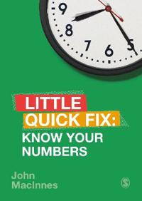 Know Your Numbers: Little Quick Fix