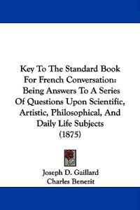 Key to the Standard Book for French Conversation