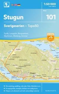 101 Stugun Sverigeserien Topo50 : Skala 1:50 000
