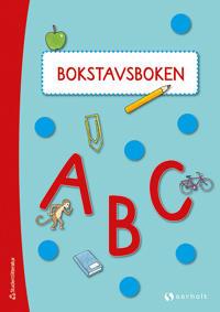 Bokstavsboken ABC - 5-pack