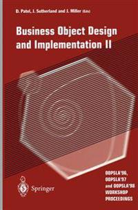 Business Object Design and Implementation
