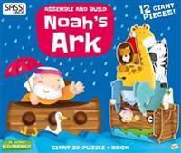 NOAHS ARK 3D PUZZLEBOARD BOOK