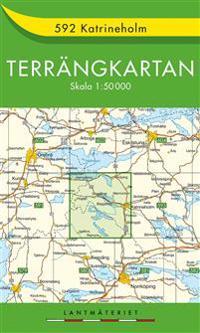 592 Katrineholm Terrängkartan : 1:50000