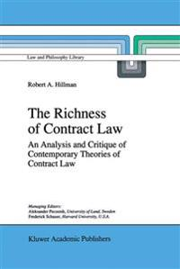 The Richness of Contract Law