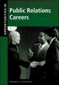 Opportunities in Public Relations Careers