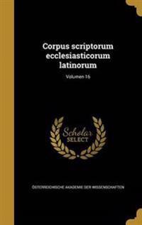 LAT-CORPUS SCRIPTORUM ECCLESIA