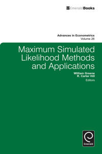Maximum Simulated Likelihood Methods and Applications