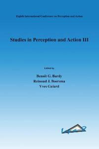 Studies in Perception And Action III