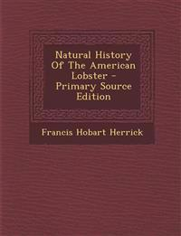 Natural History Of The American Lobster