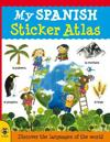 My spanish sticker atlas - discover the languages of the world