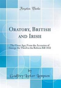 Oratory, British and Irish