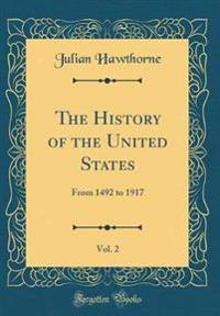 The History of the United States, Vol. 2