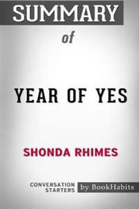 Summary of Year of Yes by Shonda Rhimes