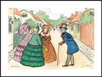 Beskow Poster Aunts & Uncle Blue