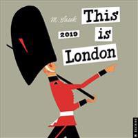 This Is London 2019 Calendar