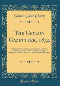 The Ceylon Gazetteer, 1834
