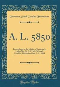 A. L. 5850