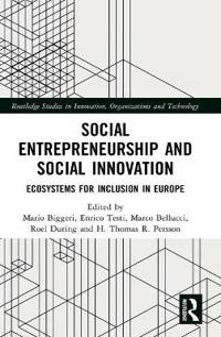 Social Entrepreneurship and Social Innovation