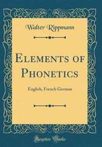 Elements of Phonetics