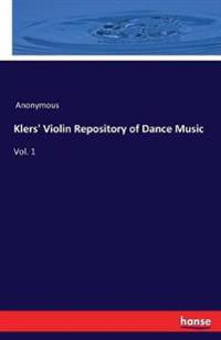Klers' Violin Repository of Dance Music