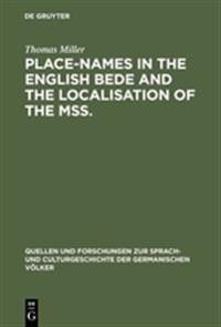 Place-names in the English Bede and the localisation of the mss.