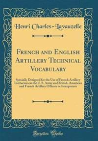 French and English Artillery Technical Vocabulary