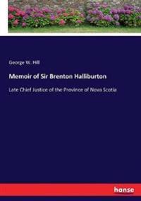 Memoir of Sir Brenton Halliburton