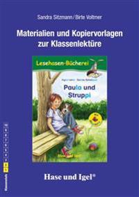 Paula und Struppi / Silbenhilfe. Begleitmaterial