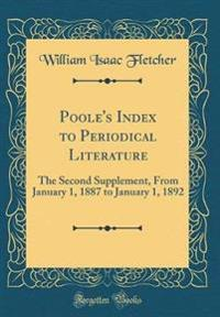 Poole's Index to Periodical Literature