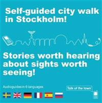 Talk of the town: Self-guided city walk in Stockholm - German