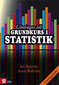 Lösningar till Grundkurs i statistik
