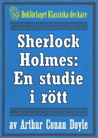 Sherlock Holmes: En studie i rött – Återutgivning av text från 1927