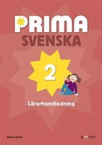 Prima svenska 2 Lärarhandledning