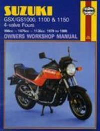 Suzuki Gsx/gs1000, 1100 & 1150 4-valve Fours Owners Workshop Manual, No. M737