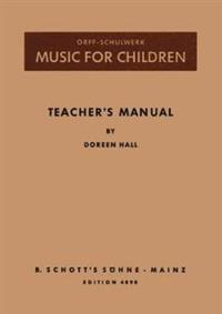 Orff-Schulwerk in Canada Teacher Manual