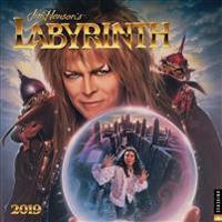 Labyrinth 2019 Square Wall Calendar