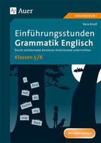 Einführungsstunden Grammatik Englisch Klassen 5-6